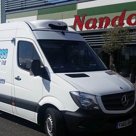Multi-Drop Food Delivery To Nandos